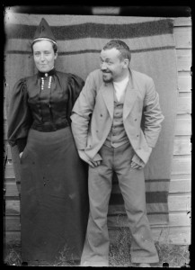 Blenda and Hugo Simberg, 1896. source: The National Gallery of Finland