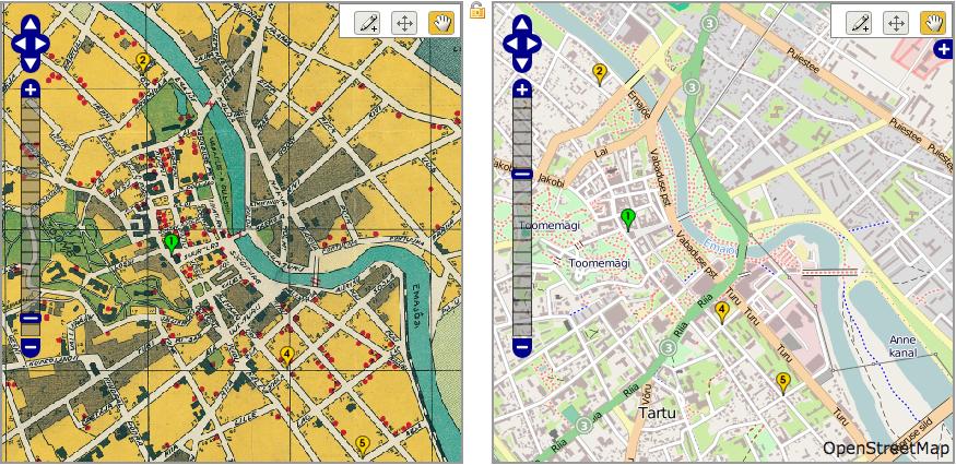 Wikimaps Warper työssä
