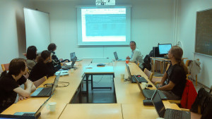 GLAMWikiToolset training in Helsinki.